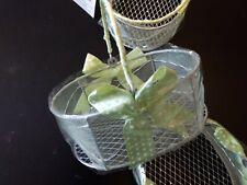 Organza Mini Baskets - Mint Green, lot 66
