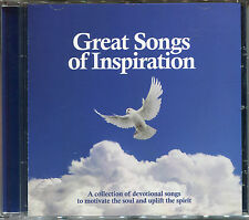 GREAT SONGS OF INSPIRATION CD - ANGELS IN THE SKY, AVE MARIA & MORE