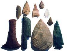 Großes Steinzeit Set Experimentelle Archäologie (Nachbau) flint knapping