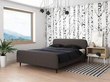 Klassisches Ehebett Doppelbett 140x200 Ehebett GRAU mit Lattenrost TOP NEU2017