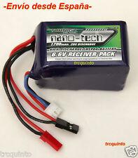 Batería tipo Life, LifePo4 6,6v 1700mA 20C, especial receptores gran capacidad