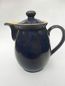 1960's Vintage Denby ** COTTAGE BLUE ** 1.5 Pint Coffee Pot/Hot Water Jug