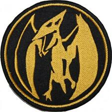 Power Rangers Pink Ranger Insignia Embroidered Patch Sew/Iron-on 10cm