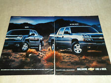 2003 CHEVROLET AVALANCHE article / ad