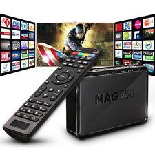 Top MAG 250 IPTV SET TOP BOX Multimedia Player Internet TV IP Konsole 1080P