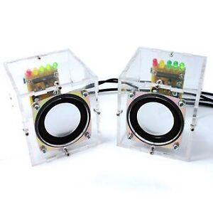 DIY Transparent Mini Amplifier Speaker Kit