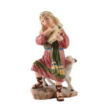 "New Fitz & Floyd Nativity ""Shepherd With Harp "" Figurine 19-217"