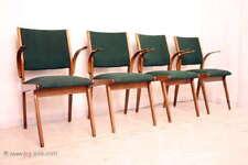 1 von 4 Designer Danish Style 60er Jahre Konferenzstuhl Armlehnenstuhl Schreibti