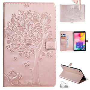 """For Samsung Galaxy Tab A 8"""" 10.1"""" 2019 Tablet Case Wallet Leather Flip Cover"""