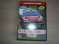 DVD=WRC MONDIALE RALLY 2007 FIA WORLD CHAMPIONSHIP=DALLA FINLANDIA AL GALLES
