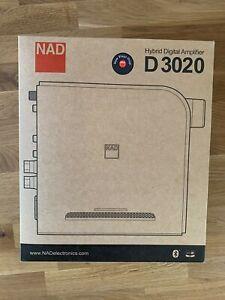 NAD D 3020 V2 Hybrid Digital Vollverstärker Phono Bluetooth OVP