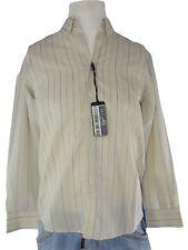 libica camicia classica uomo righe sabbia made italy regular taglia 40 m medium