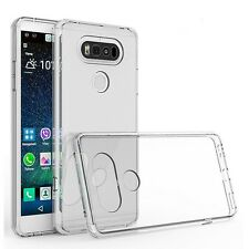 HD Clear TPU Shockproof Case Cover Armor Guard Shield Saver For LG V20