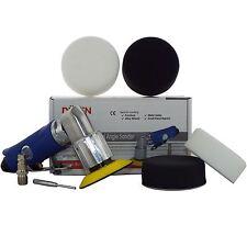 """75mm Pulidor De Aire Mini Kit (3 """") + 2 Pulido Y 2 mezclado de compuestos de espuma Jefes"""