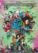 THE SUICIDE SQUAD - HAND SIGNED WITH COA - ALL 5 MAIN CAST AUTOGRAPHED PHOTO