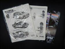 1990s AMT Monogram ERTL retailer catalog line art lot vintage cars model kits +!