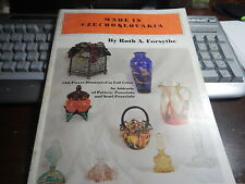 Antique reference book Made in Czechoslovakia by Ruth A Forsythe