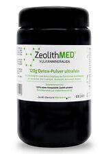 Zeolith MED® Detox-Pulver ultrafein 120g im Violettglas