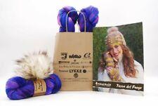 Araucania Yarn's Joan Hat & Wristwarmers Yarn Kit Version C