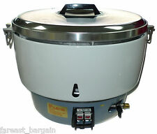 NEW Huei NATURAL Gas Commercial Rice Cooker (50 Cups) 100 BOWLS