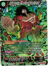 SS4 Broly The Great Destroyer - BT11-152 SCR Dragonball Super Card Game Mint