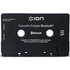 ION Audio Bluetooth Cassette Adapter for Cassette Decks in Black