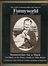 funnyworld animation/comic art magazin #21 - carl barks - 1979 (klasse 7.0) wh