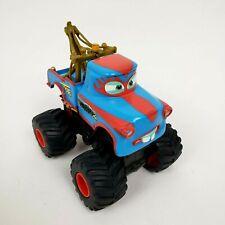DISNEY CARS TOONS TORMENTOR MATER Monster Truck Power Punch Kick Toy