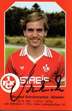 Michael Schuhmacher (1. FC Kaiserslautern) - 1979 - original