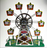 CLASSIC TIN TOY WIND-UP CLOCKWORK MUSICAL FERRIS WHEEL 2nd EDITION COLLECTABLE