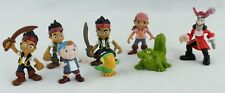 JAKE & NEVER LAND PIRATES Lot of 8 Figures Cake Toppers Lot