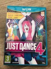 Jeu WII U NINTENDO JUST DANCE 4
