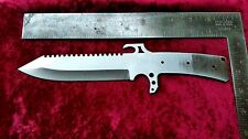Steel Knife Blade 1075 High Carbon Steel Handmade Hunting / Survival / Combat 72
