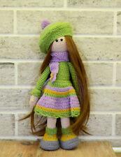 ABIGAIL- unique amigurumi crochet handmade soft doll
