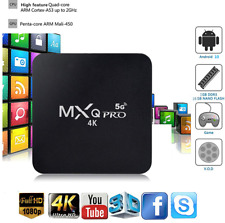 MXQ Pro 2020 Android 10 TV Box Ram 4GB ROM 32GB Dual band 2.4/ 5G WIFI