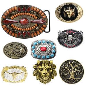 Retro Western Rodeo Cowboy Belt Buckle Boho Native American Buckle Accessories