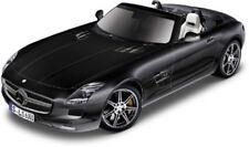 Mercedes-Benz SLS AMG Roadster, negro, Bburago Street Fire Auto Modelo 1:32