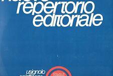 GIANCARLO GAZZANI STEFANO TOROSSI disco LP 33 g EDITORIALE Omaggi Classico RAI