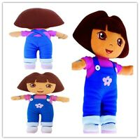 New DORA THE EXPLORER Kids Girls Soft Cuddly Stuffed Lovely Plush Toy Doll
