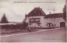 France Contrexeville - Restaurant Champetre - La Ferme de Eveques old postcard