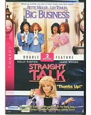 Big Business / Straight Talk DVD Stars Bette Midler Lily Tomlin Dolly Parton