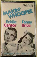 Fanny Brice/Eddie Cantor:  Makin' Whoopee (Cassette, Pro-arte) NEW