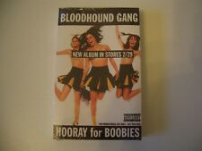 Bloodhound Gang Hooray for Boobies Promo Cassette Tape Sealed Dead Stock New Old