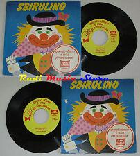 "LP 45 7"" PICCOLI BOYS Sbirulino italy PROMO SAN CARLO JUNIOR SC 010 cd dvd"