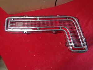 1968 Pontiac Catalina Right Hand Tail Light Lens Trim Only GUIDE 25 Star Chief