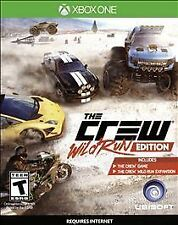 The Crew -- Wild Run Edition (Xbox One, 2015)   Factory Sealed Cellophane