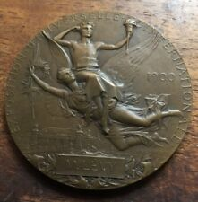 1900 EXPOSITION PARIS & OLYMPIC GAMES BRONZE MEDAL 55MM
