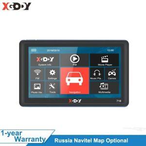 XGODY 718 7 Inch Car GPS Navigation 128M+8GB FM Touch Screen Sat Nav Truck