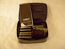 Cokin Series A Photo Filters Set of 8 in Case Holder Notebook Hood