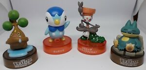 Lot Figurines promotionnelle Pokémon Tiplouf Goinfrex Meloetta Manzai B-12